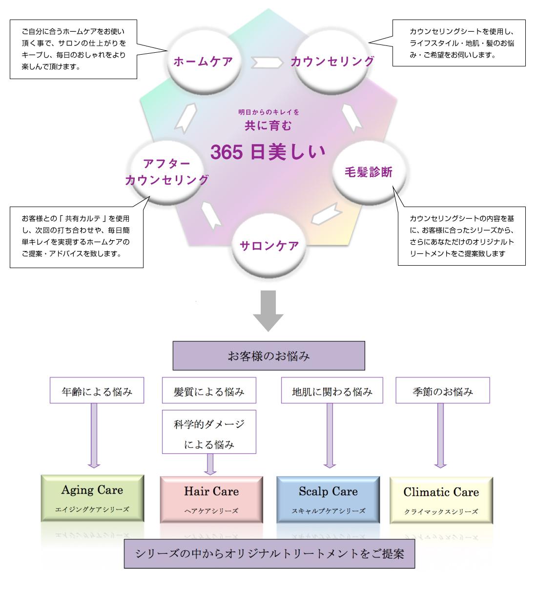 haircare-chart