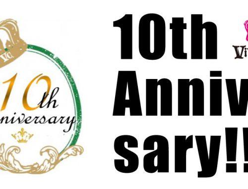VIVIdeCOCO 10th Anniversary!!